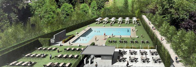 Hotel con piscina allaperto il Bellunese avr la prima