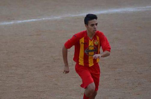 Agostino Calatabiano durante una partita