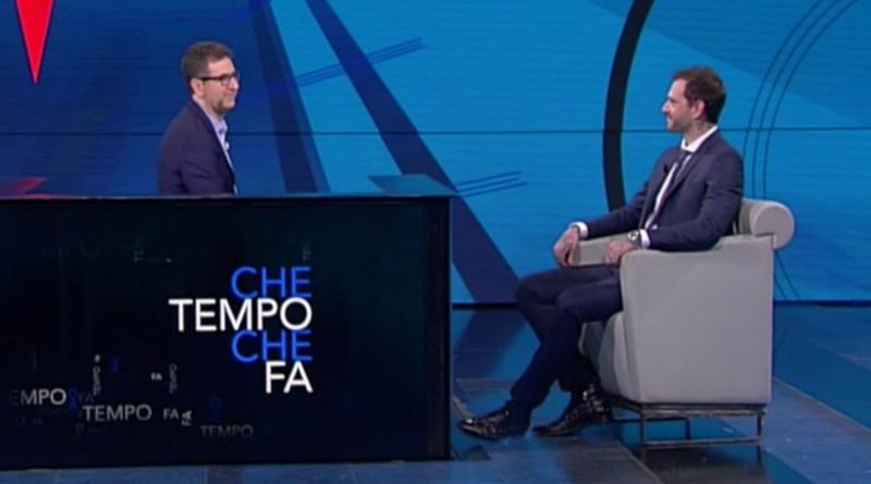 Paul Baccaglini e Fabio Fazio