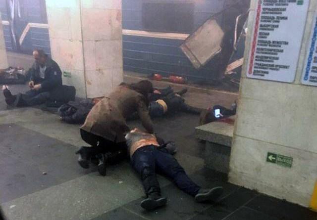 Attentato metropolitana San Pietroburgo