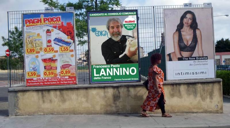 Franco Lannino campagna elettorale virtu