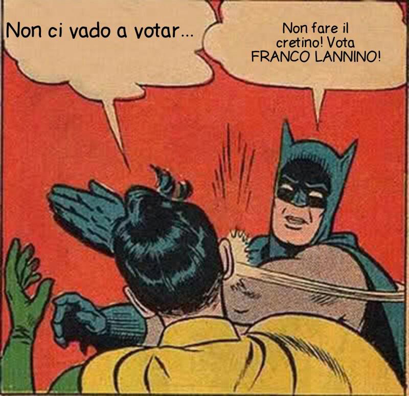 Lannino, Batman e Robin