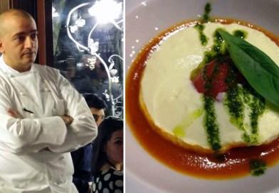 Il G7 a tavola: è la nuvola caprese ad aprire il menù dello chef Pino Cuttaia