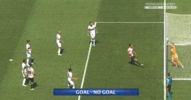 Il gol di Rispoli del Palermo