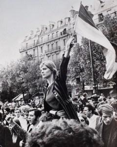 Maggio Francese del 1968 - Corteo degli studenti dopo l'occupazione della Sorbona