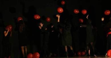 al teatro biondo rappresentazione delle detenute Pagliarelli