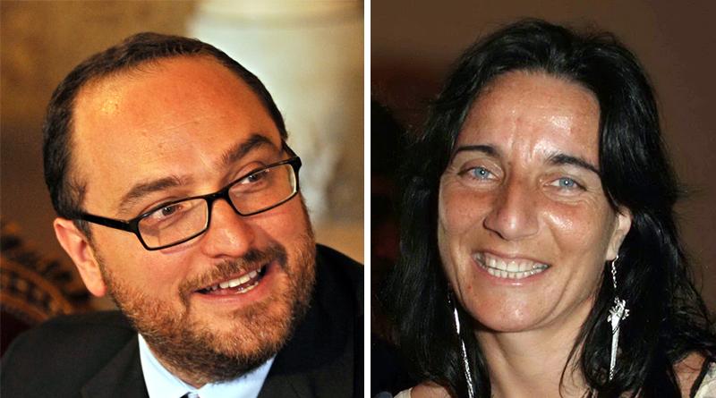 Giusto Catania e Nadia Spallitta