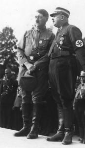 Adolf Hitler e Ernst Röhm
