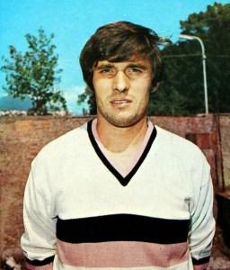 Sergio Pellizzaro, giocatore Palermo calcio 1970-1971
