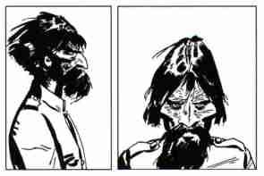 Rasputin compare in Una Ballata del Mare Salato (1967) prima dello stesso protagonista Corto Maltese, del quale sarà poi compagno in numerose avventure. Ha le fattezze del Rasputin storico, pur non avendo con lui nulla a che fare