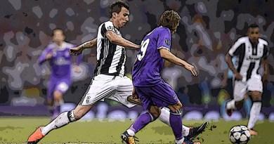 Juventus - Real Madrid 1-4 Champions 2017