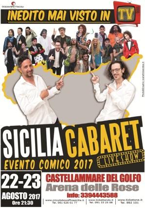 Sicilia Cabaret all'Arena delle Rose