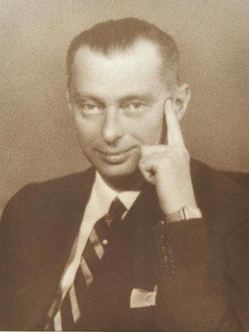 Edoardo Agnelli, figlio del fondatore della Fiat Giovanni Agnelli