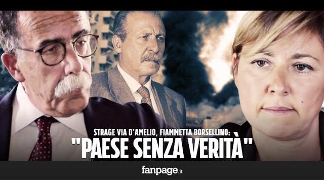 Intervista Fiammetta Borsellino Sandro Ruotolo Fanpage