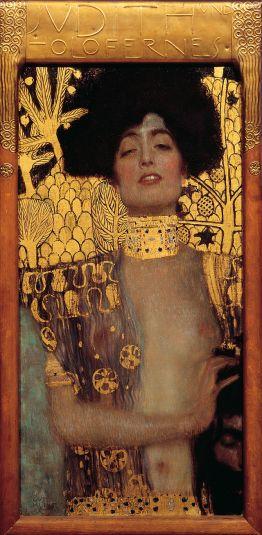 Giuditta e la testa di Oloferne (1901) – noto anche come Giuditta I è considerata come la prima opera del periodo aureo
