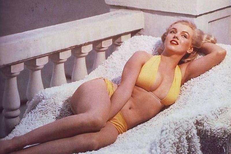 Mariltn Monroe in bikini