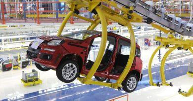 Catena di montaggio Fiat a Pomigliano