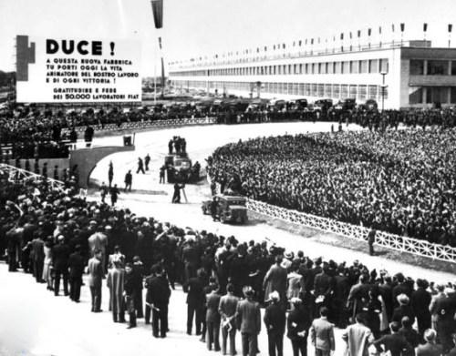 Inaugurazione Fiat Mirafiori - 1939