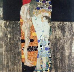 Le tre età della vita (1905) – Questo dipinto vinse il premio all'Esposizione d'Arte Internazionale di Roma del 1911