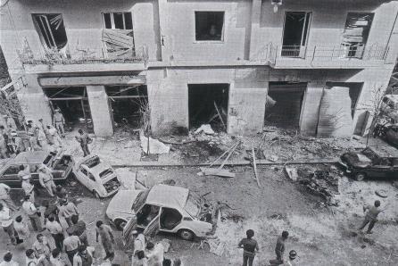 Strage via Pipitone Federico in cui persero la vita il giudice Rocco Chinnici, i due carabinieri della scorta, e il portiere dello stabile