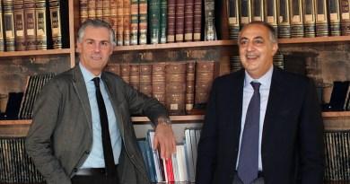 Fabrizio Micari e Roberto Lagalla