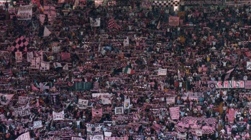 Tifosi Palermo allo stadio