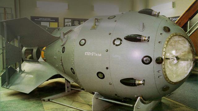 Modello della prima bomba atomica dell'Unione Sovietica, 1939