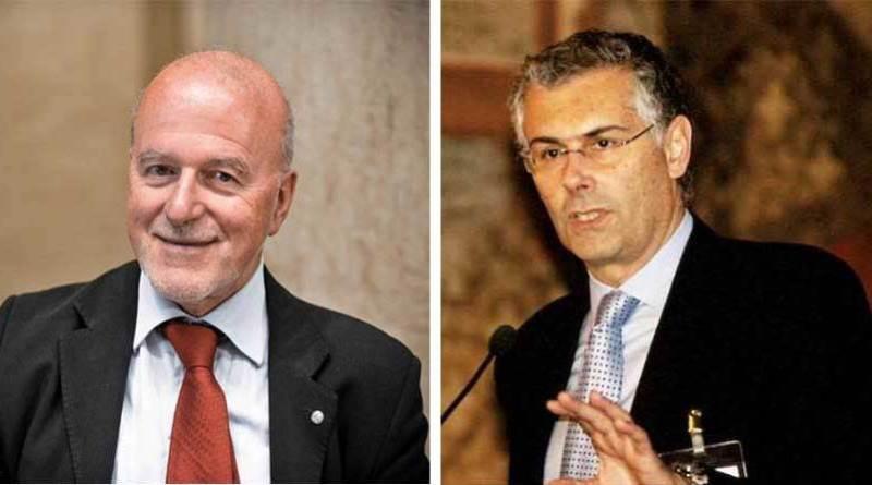 Nicola Piepoli e Fabrizio Micari
