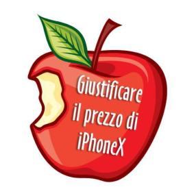 giustificare costo iPhone X