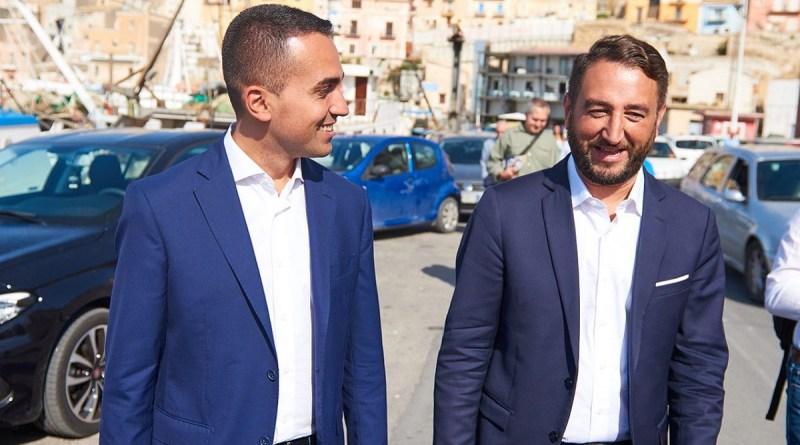 Tour di Palermo per il M5S con DI Maio, Grillo e Cancelleri