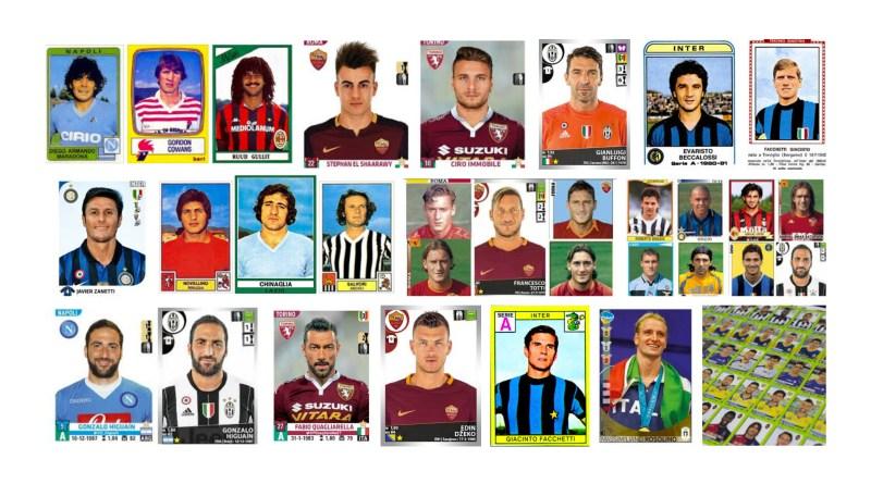 Figurine calciatori Edizioni Panini