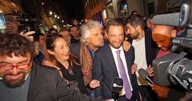 Grillo, Cancelleri e Di Maio tour a Palermo