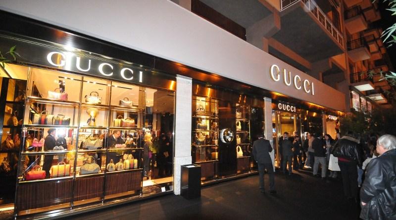furto negozio Gucci Palermo