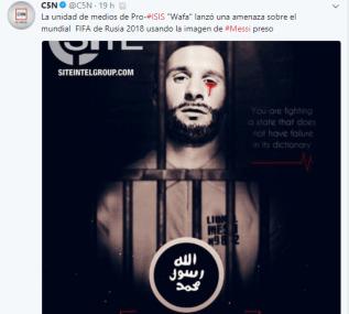 L'Isis minaccia il calcio mondiale: Messi nel mirino