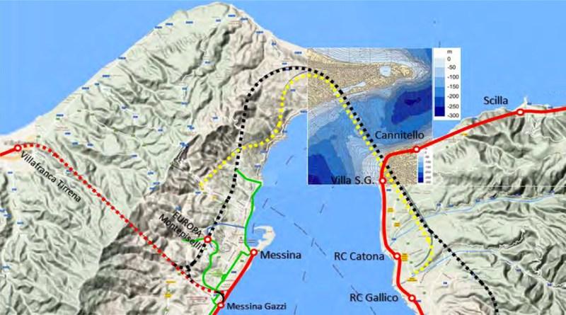 Tunnel di attraversamento sotto lo Stretto di Messina