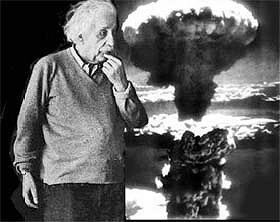 Einstein e la bomba