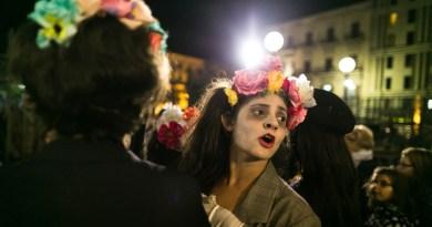 """""""Notte di Zucchero"""", la tradizione della Festa dei Morti in piazza Pretoria"""