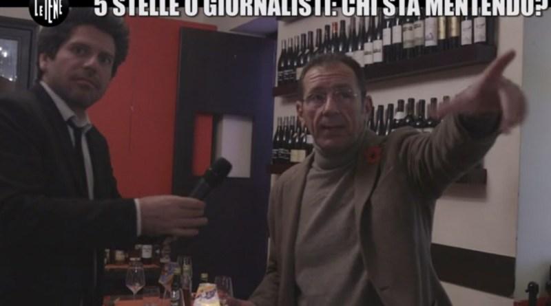Le iene fanno luce sulla presunta lite al ristorante di Gigi Mangia tra i giornalisti e i Cinquestelle