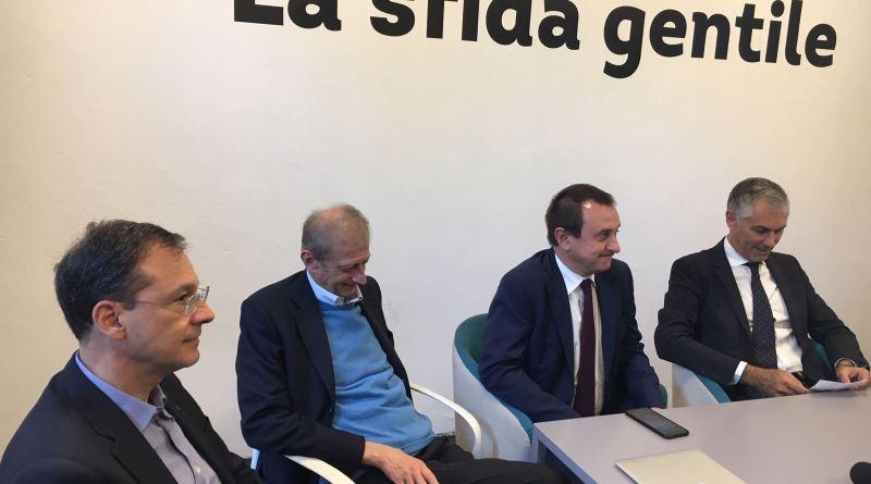 Micari, Fassino e Rosato, conferenza stampa