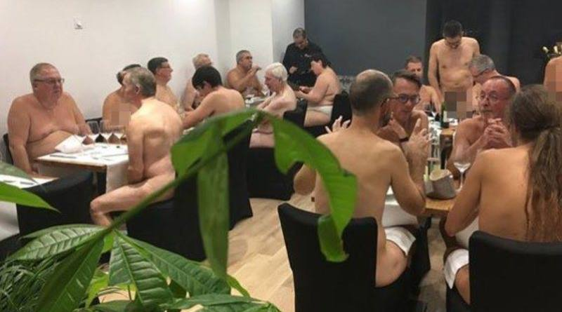 O' Naturel, il ristorante per nudisti a Parigi
