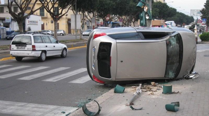 Palermo, incidenti stradali in aumento nel 2016