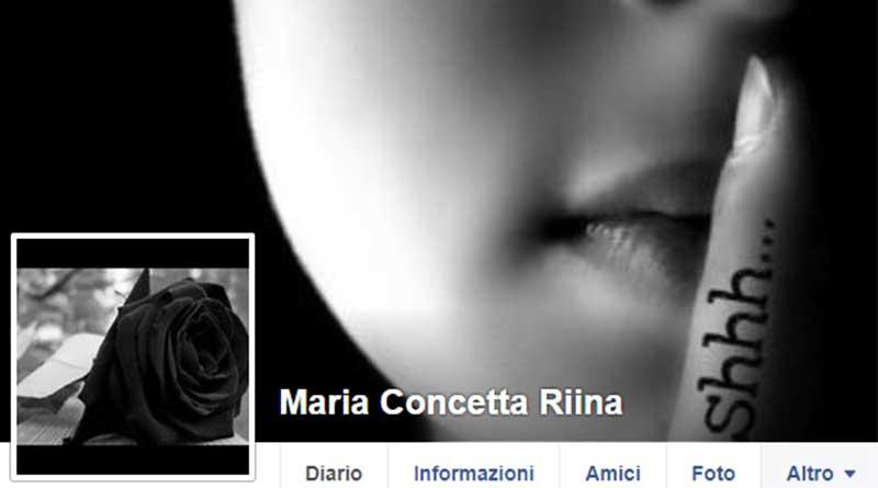 """La figlia di Riina e il """"silenzio"""" reclamato su Facebook"""