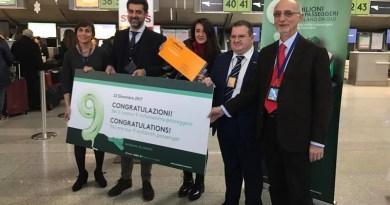 L'aeroporto Fontanarossa di Catania stabilisce un nuovo record: raggiunto il traguardo di 9 milioni di passeggeri in un anno