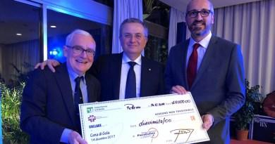 Serata di beneficenza di Federfarma Palermo e dell'Ordine dei farmacisti: raccolti 10 mila euro per l'Associazione Piera Cutino-Guarire dalla talassemia