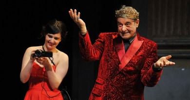 L'attore Ennio Fantastichini è il protagonista del Re Lear di William Shakespeare, in scena al Teatro Biondo di Palermo, regia di Giorgio Barberio Corsetti