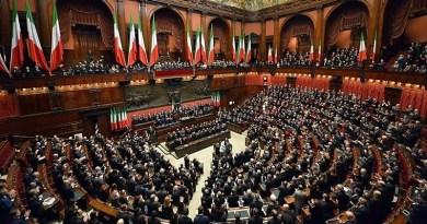 Parlamento a camere riunite