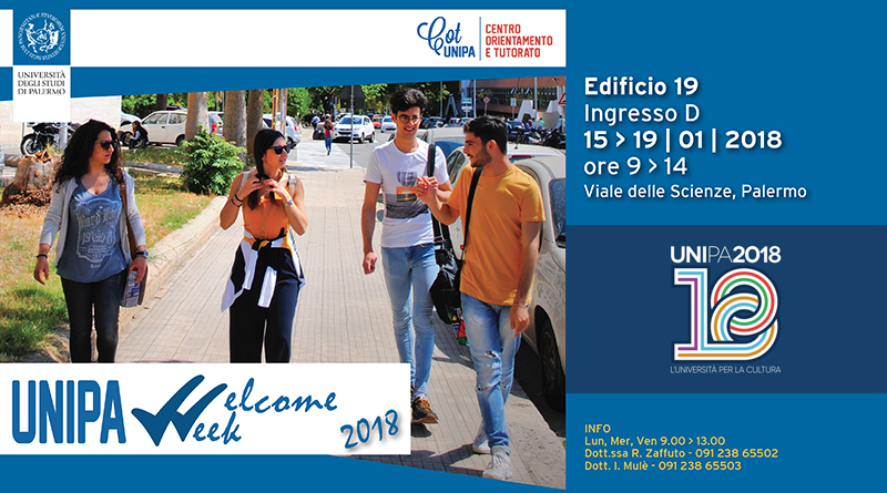 Unipa Welcome Week 2018