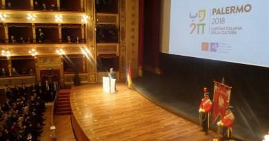 Palermo inaugura ufficialmente l'anno da Capitale Italiana della Cultura alla presenza del Presidente del Consiglio dei Ministri Paolo Gentiloni