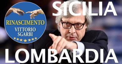 Vittorio Sgarbi, assessore in Scilia, si candida presidente in Lombardia