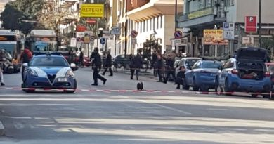 Palermo, allarme bomba in via Notarbartolo